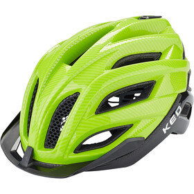KED Champion Visor Casco, green black
